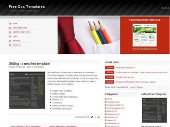 Templates Web en CSS Gratuitas y listas para descargar - free-css-templatescom