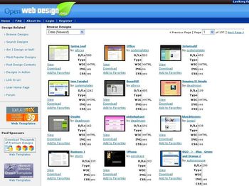 Templates Web en CSS Gratuitas y listas para descargar - openwebdesignorg