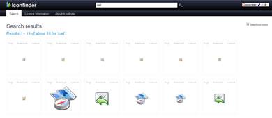 IconFinder - Buscador de Iconos - iconfinder_screenshot