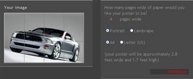 block posters screenshot BlockPosters Crear Posters De Cualquier Tamaño Rapidamente En Linea