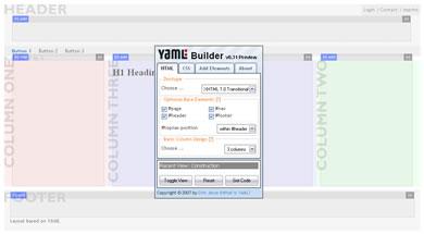YAML  Builder - Constructor de Layouts CSS En Linea - contructor_de_layouts
