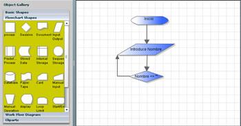 Crear Diagramas De Flujo, Proceso y Mas En Linea Con DrawAnyWhere - drawanywhere_screenshot