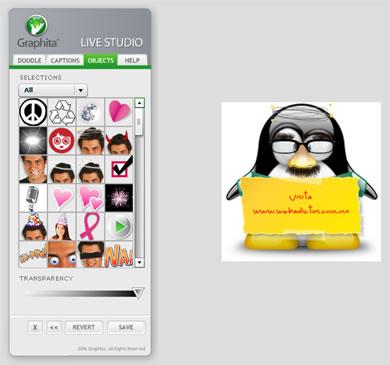 Graphita - Editor de Fotografias Divertidas - graphita_screen_shot