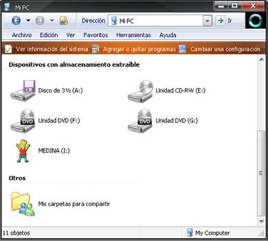 Cambiar El Fondo e Icono de Una Memoria USB - icono_usb