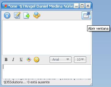 meebo popup Integra Meebo En Firefox