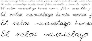 Fuentes Manuscritas Gratis - fuentes-cursivas-gratis