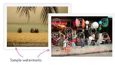 Agregar Marca de Agua a tus Imagenes en Linea - sample_watermarks