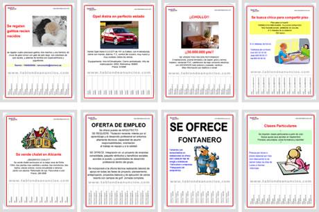 formatos cartel Crear Carteles Para Vender u Ofrecer algo