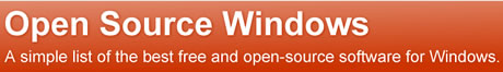 Programas Open Source Para Windows XP y Windows Vista - programas-gratis