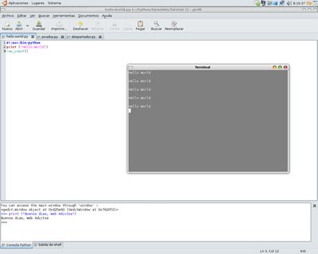 tutorial python Tutorial de Python Parte I