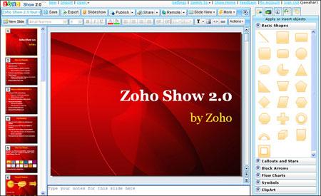 zohoshow Crea Presentaciones en Linea y Olvidate de Power Point
