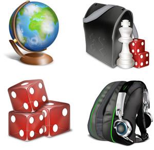 35 Sets de Iconos Gratis - glob