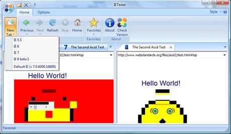 Probar tu web en todas las versiones de Internet explorer con IETester - ietester-0