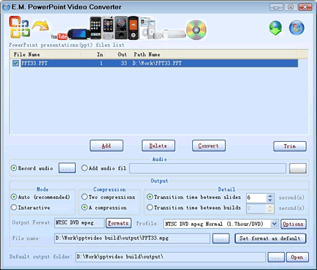 Convertir Power Point a Video - powerpoint-video-converter