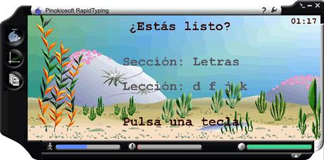 RapidTyping, Programa para aprender a teclear - aprender-teclado-computadora