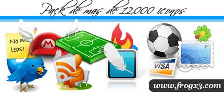 iconos gratis 12,000 iconos gratis