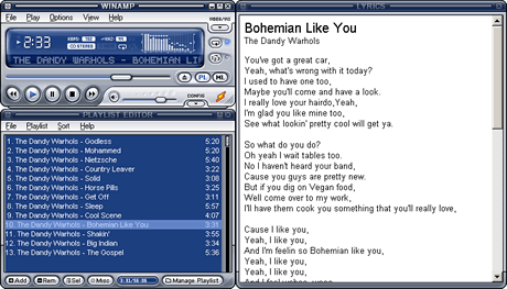 Mostrar letras de canciones en Winamp y Windows Media Player con Lyrics Plugin - letras-canciones-winamp