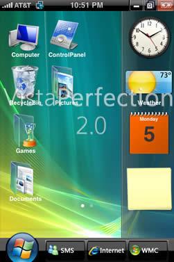 tema vista iphone gratis Tema vista para iPhone