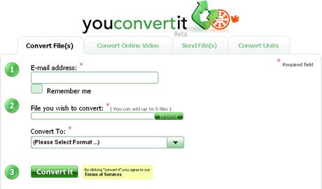 Convertir video y otros archivos en YouConvertit - convertir-video