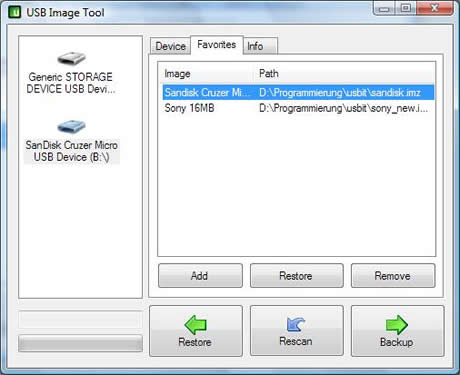 respaldar usb Respaldar memoria usb con USB Image tool