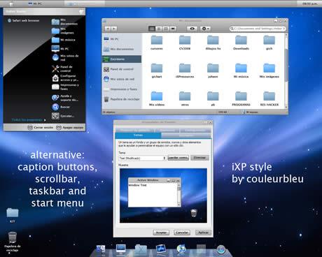 Temas de escritorio win xp - iXP Style - temas-de-escritorio-win-xp-mac