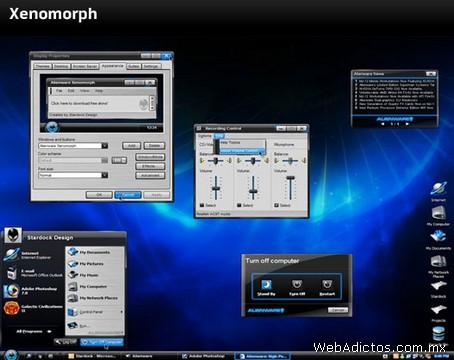 temas windows xenomorph Temas Windows, AlienGUIse Theme Manager