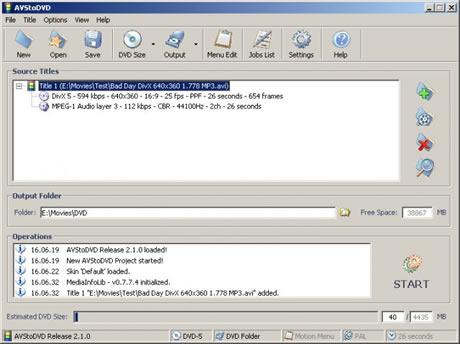 Crear dvd con AVStoDVD - crear-dvd