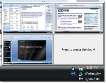 Escritorios virtuales en Windows con Desktops v1.0 - escritorios-virtuales-1