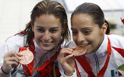 medalla mexico Medalla de bronce para México