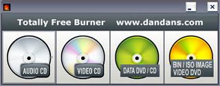 Quemar dvd y CD con Totally Free Burner - quemar-dvd