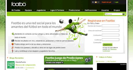 futbol Futbol, Footbo red social de futbol