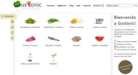 recetas de cocina Recetas de cocina en Gustonic