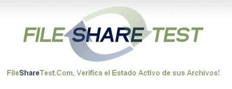 Verificar disponibilidad de archivos en Rapidshare y Megaupload con FileShareTest - fileshare-test