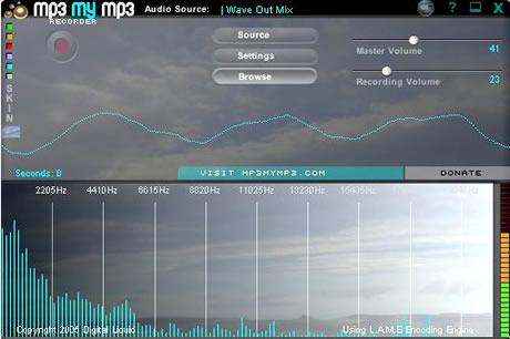 grabar mp3 grabar audio con Mp3MyMp3