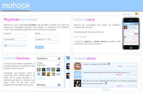 Mohook comparte tus vivencias con tus amigos - mohook