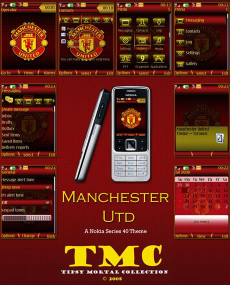 Temas nokia de futbol - temas-nokia-manchester_united_nokia_s40_by_tipsymortal