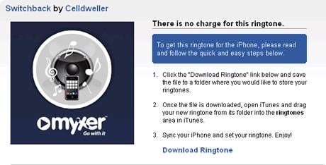 descargar tonos iphone Ringtones iphone en Myxer
