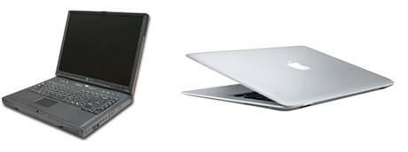 Gadgets del presente y del pasado que gran diferencia - gadgets-laptop