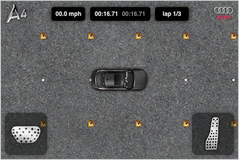 Juegos iPhone, Audi A4 - juegos-iphone-audi