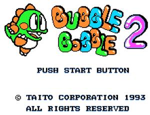 Juegos online, Bubble Bobble - juegos-online-bubble