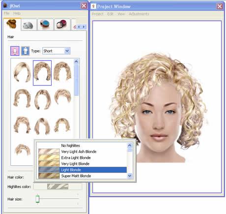 Prueba nuevos cortes de cabello y haz cambios de look con Jkiwi - look-virtual
