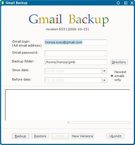 Respaldar correos de Gmail con Gmail Backup - respaldar-correos
