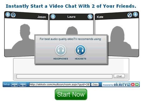 Videoconferencia desde tu navegador web gratis - videoconferencia-ekkotv