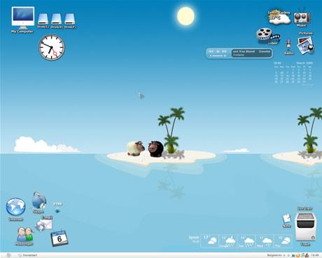themes xp holiday desktop by lemondesign Los mejores temas de Noviembre en Skineable