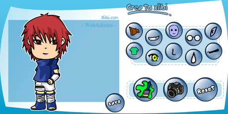 Crear avatars en Xiibi - avatares-manga