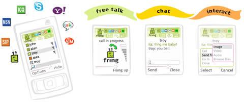 chat celular Msn para celular y llamadas gratis con Fring