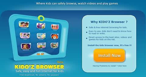juegos para ninos1 Navegador web para niños Kidoz