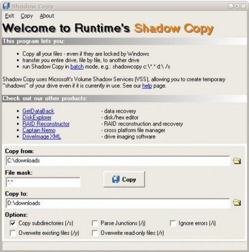 Copiar archivos bloqueados en Windows - shadow-copy