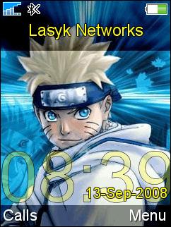 temas z750i naruto Temas sony z750i de Anime