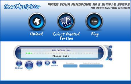 Tonos para celular, crealos en SmartMp3Splitter - tonos-celulares